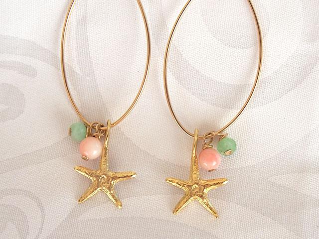 ピアス Star Fish拡大